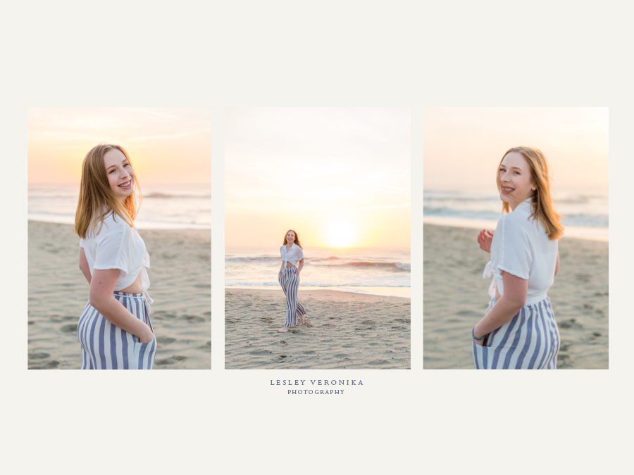 senior portrait session, Wilmington NC Senior Photography, Kure Beach NC Senior Portraits