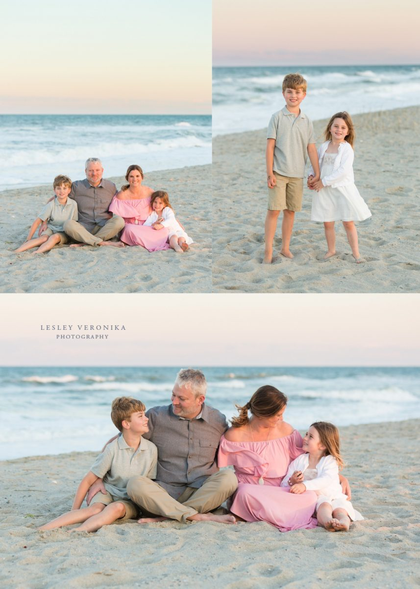 family, beach session, Fort Fisher NC family photographer