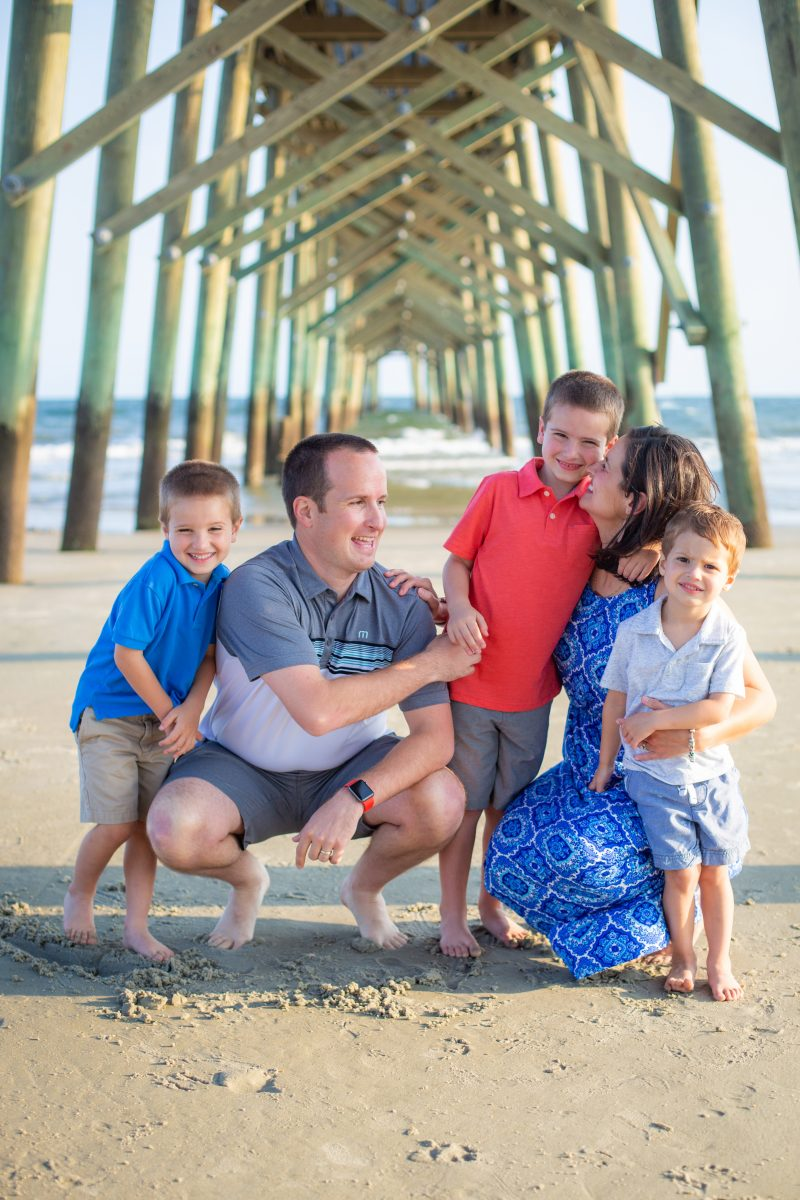Wilmington NC family portraits, oak island family photographer, family photography,